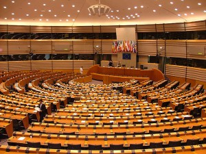 Seat of the European Parliament in Brussels - CC BY-SA 3.0 via wikimedia/Alina Zienowicz