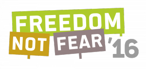 Logo Freedom Not Fear 2016